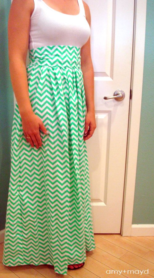 Here is an updated tutorial for my popular chevron maxi dress. Tips and tricks and everything you need in a maxi dress tutorial to sew your own!