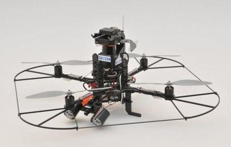 Japanese Security Firm to Start Renting Surveillance Drones - IEEE Spectrum