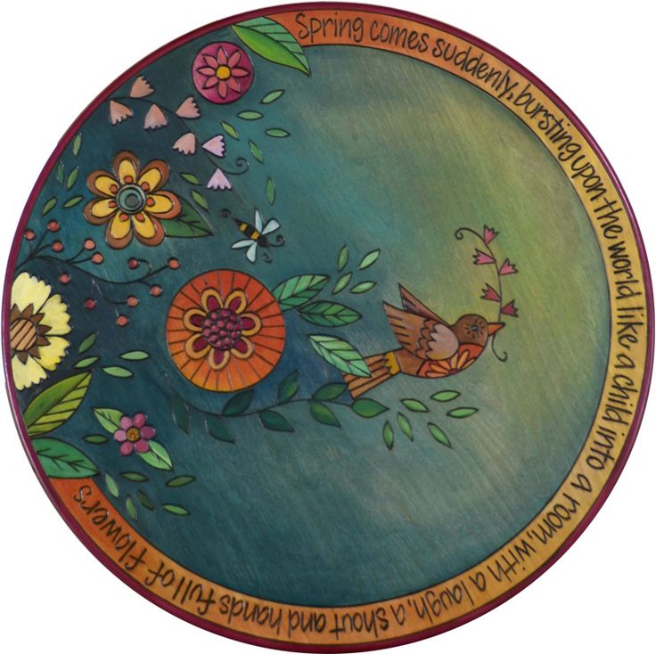 "20""D Small Lazy Susan - 2016 Spring Limited Edition - Design going away soon, get it while you still can!"