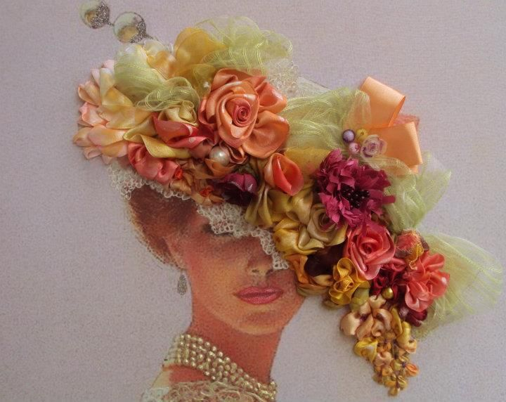 Best images about crafts ribbon embroidery on