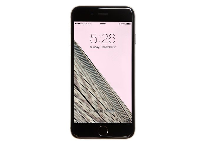 Free Wood + Pink Wallpaper For iPhone 5 & 6