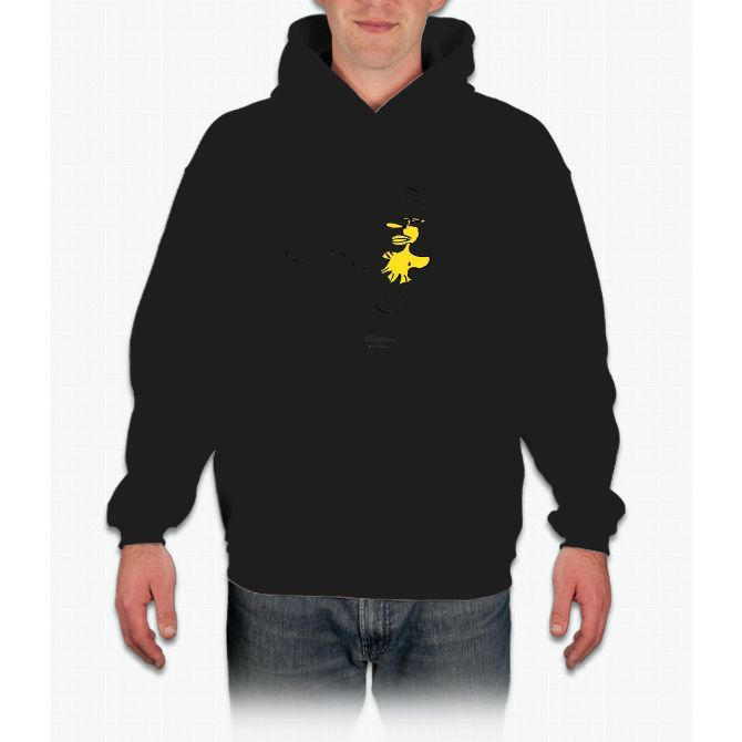 Peanuts - Snoopy - Woodstock Charlie Brown Hooded Sweatshirt