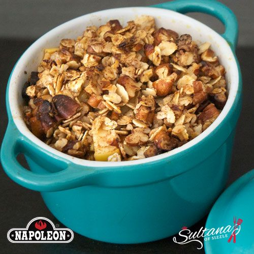 Apple Crumble Quinoatmeal Healthy And Delicious