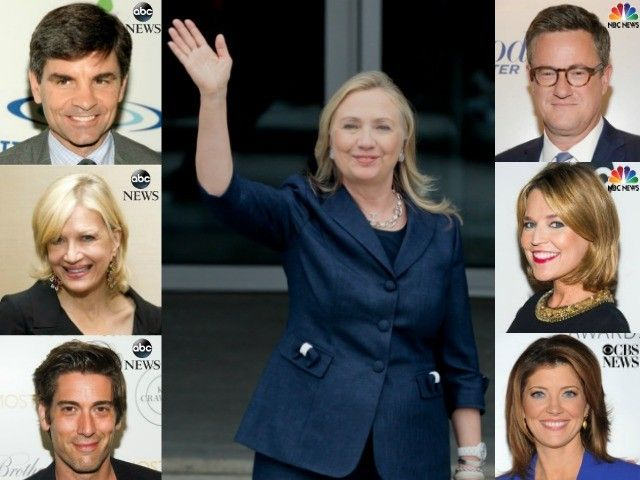Hillary Has Secret Meeting With Media Stars to Hand Deliver Approved Talking Points | John Hawkins' Right Wing News