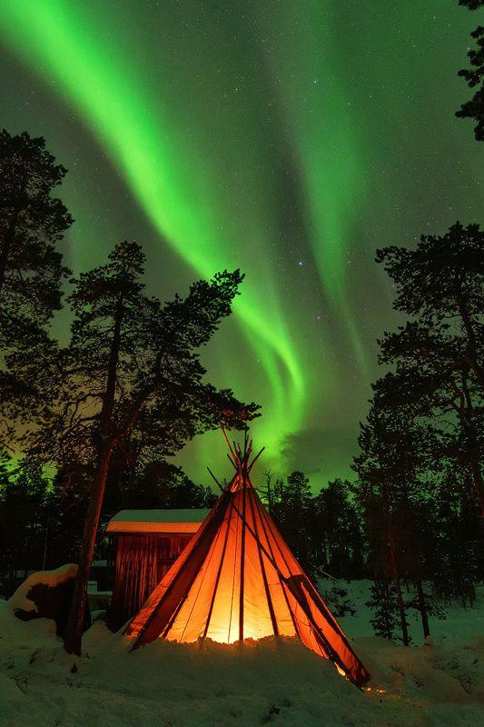 "heaven-ly-mind: ""Waves of Light, Inari, Ivalo | Finnish Lappland"""