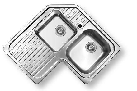 Las 25 mejores ideas sobre fregaderos de acero inoxidable for Fregadero 80x50