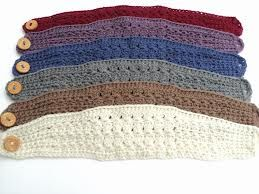 crochet headbands patterns - Buscar con Google. These would be cute and easy to make for granddaughter's