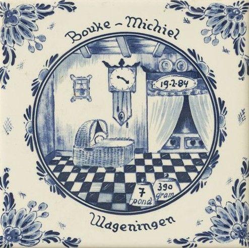 Delfts blauw, Bouke-Michiel, Wageningen
