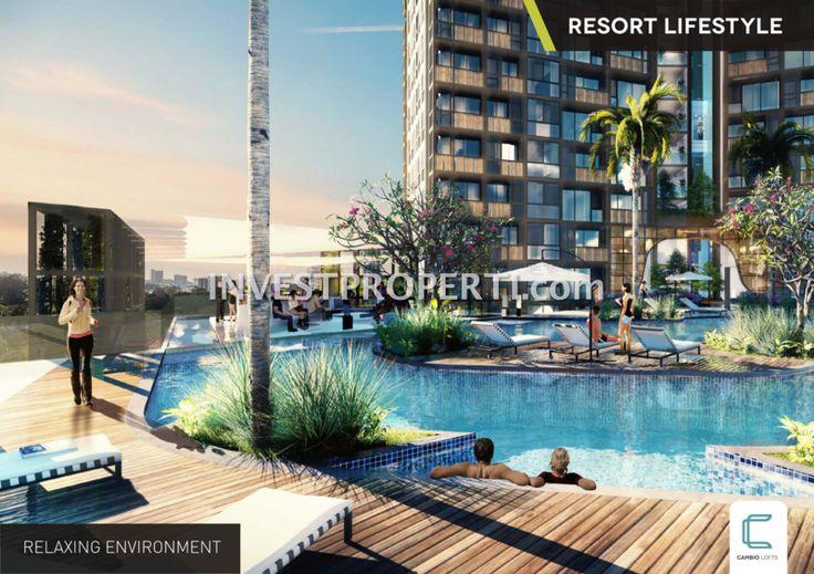 Resort lifestyle @ Cambio Lofts ALam Sutera #cambioloftsalamsutera