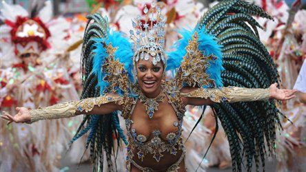 Nottingham Carribbean Carnival parade