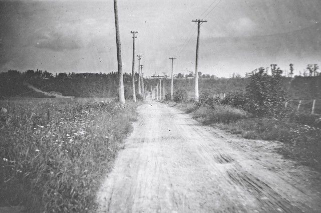 L'avenue Saint-Sacrement en 1916