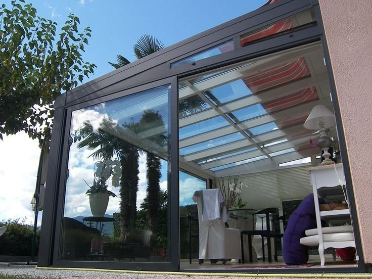 Tettoia in alluminio per giardini d'inverno FR 2000 + FR 5000 + | Tettoia per giardini d'inverno - FRUBAU