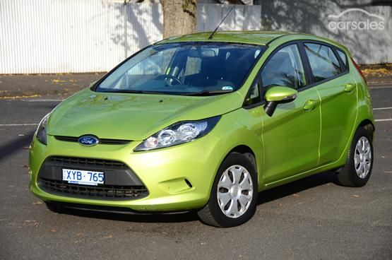 2010 Ford Fiesta ECOnetic WS Manual-$9,450*