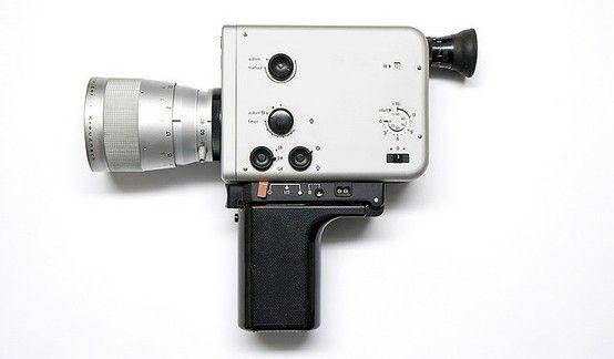 Braun Nizo camera designed by Dieter Rams by FutureEdge
