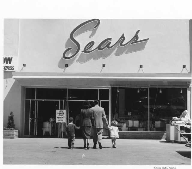 50's storefront -Sears
