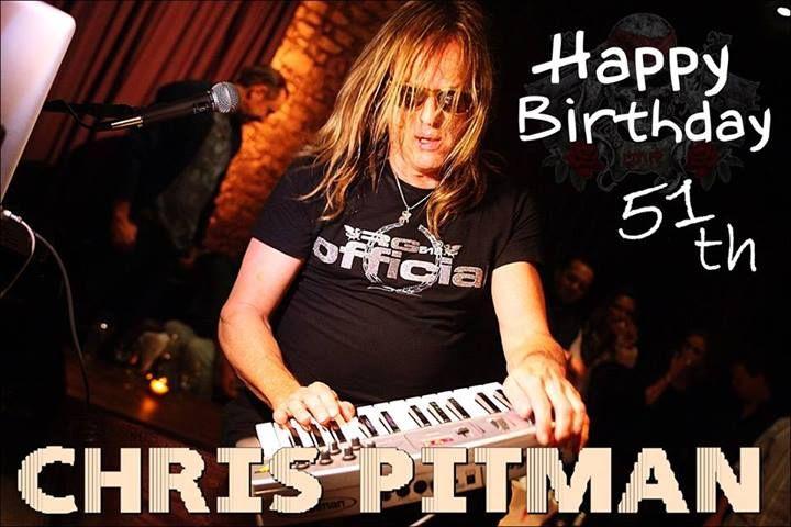 Happy Birthday Chris Pitman