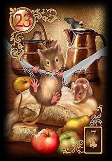 Saiba e aprenda mais sobre as combinações das cartas do Baralho Cigano Lenormand e aprofunde seus conhecimentos na carta Rato.