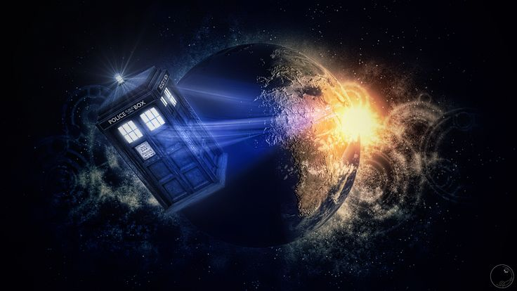 Tardis leaving by Guile93.deviantart.com on @deviantART