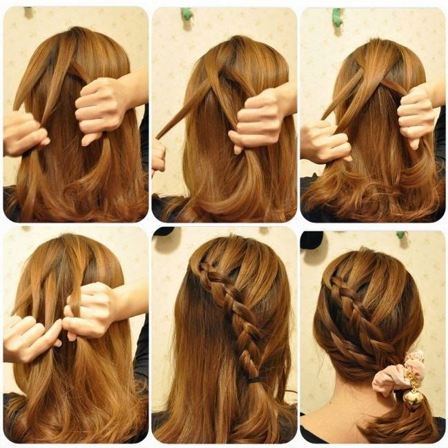 17 best images about trenzas pelo corto on pinterest - Trenzas de lado ...