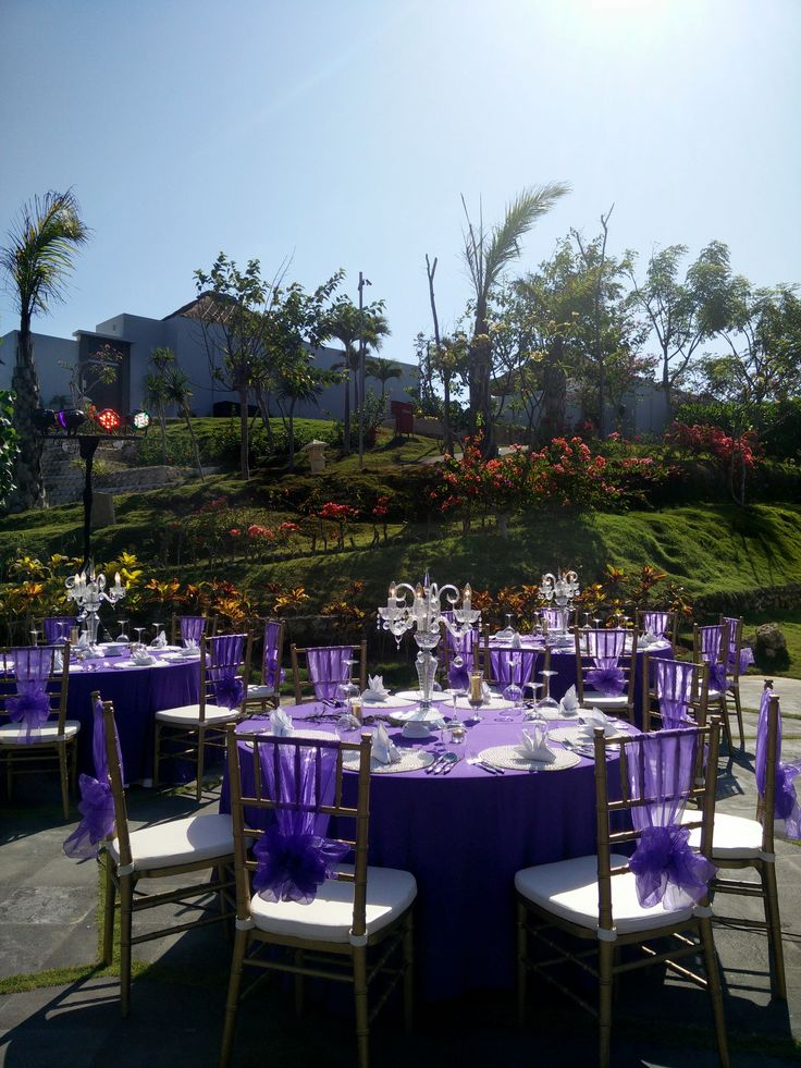 wedding decor reception set up