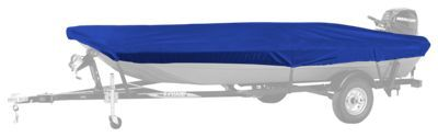 Bass Pro Shops Select Fit Hurricane Boat Covers for Aluminum Jon Boats with Outboard - Blue - 58''