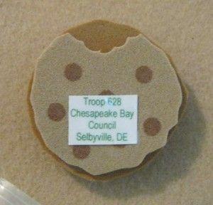 Simple Girl Scout Swap Ideas | cookie swap | Girl Scout Swaps Ideas