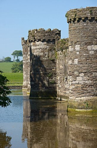 Beaumaris Castle, Wales, UK