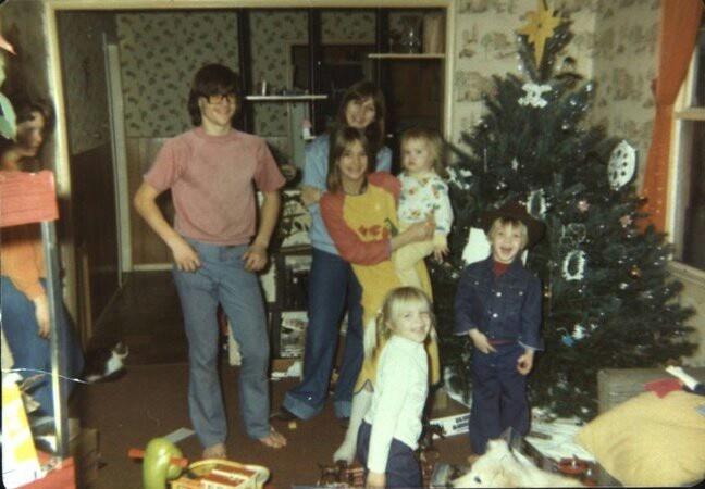 Christmas cowboy and gang