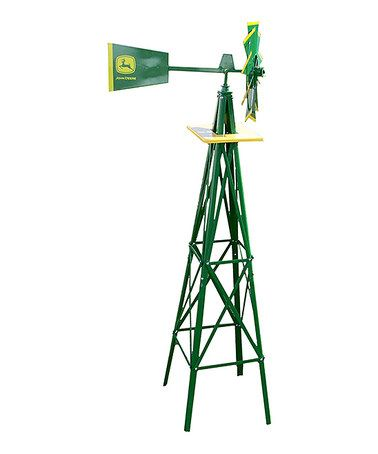 Another great find on #zulily! Yard Windmill by John Deere #zulilyfinds