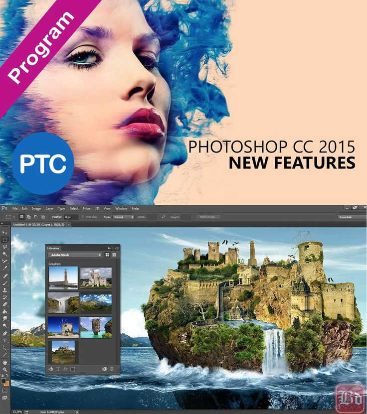 Adobe Photoshop CC 2015 v16.1.2 Katılımsız 32×64 bit Türkçe