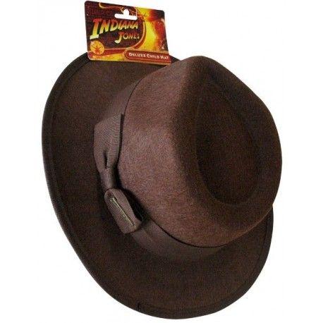 Chapeau Indiana Jones Deluxe Enfant