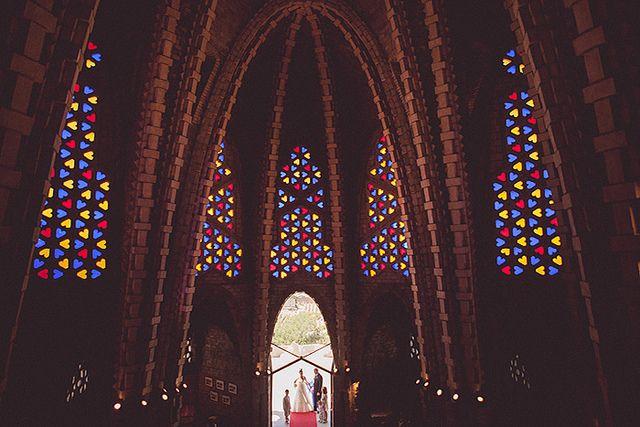 Boda religiosa al Santuari de Montserrat de Montferri