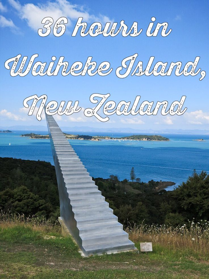 Want to get out of Auckland city for a weekend? Waiheke Island, half an hour away, is lovely and relaxing but with plenty to do!