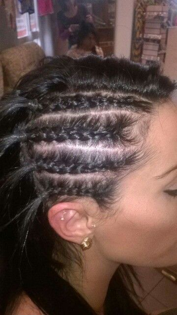 Side cornrows done at H.O.A  http://www.truelocal.com.au/business/house-of-africa/athol-park