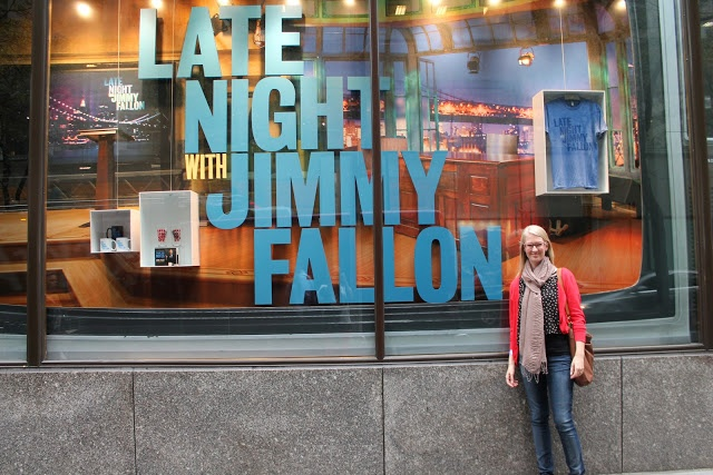 nyc: day 4 or how to get jimmy fallon tickets