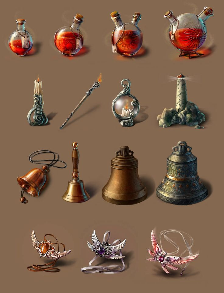Art for the hidden object game by STUDIO 61 Copyright © NIKITA ONLINE