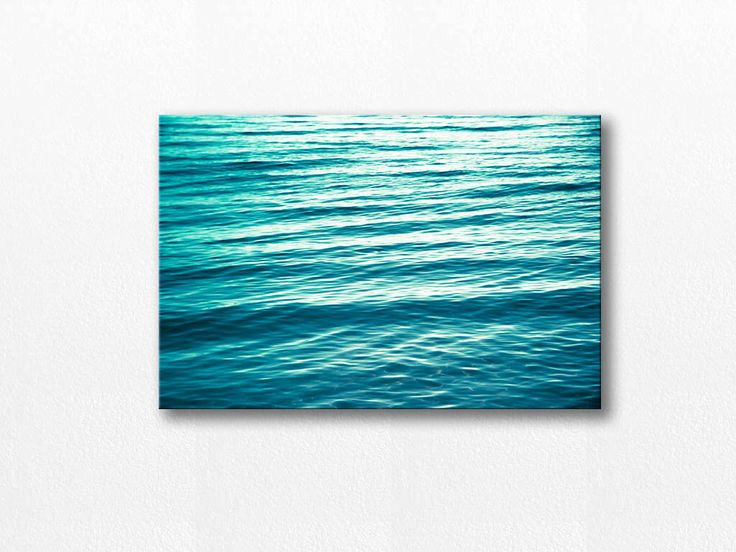 ocean photography canvas beach art nautical decor canvas coastal 12x18 24x36 fine art photography beach abstract canvas art teal canvas wrap by mylittlepixels on Etsy https://www.etsy.com/listing/196135305/ocean-photography-canvas-beach-art