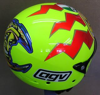 Repair on AGV Open face Helmet #153 ~ Hand Painted Helmets - Design your helmet today..!!