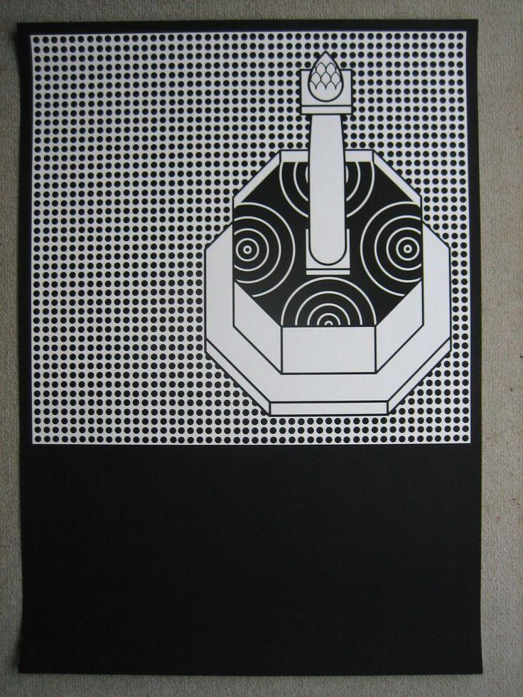 Isny poster plakat din a1 otl aicher hfg ulm design art for Hfg ulm design