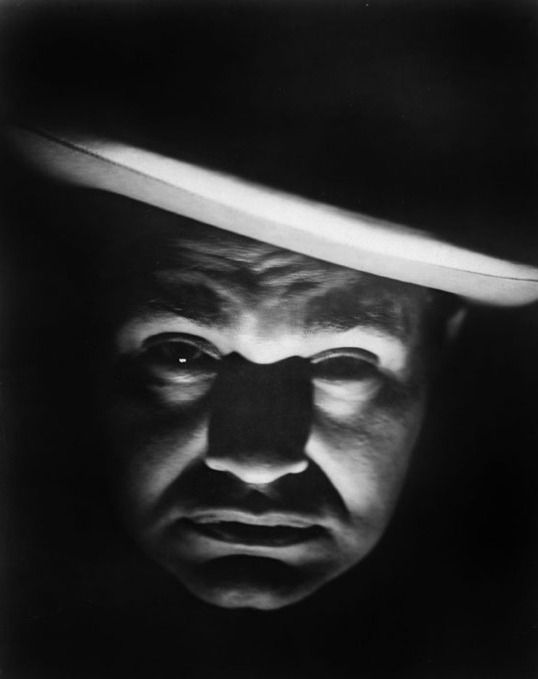 Edward G. Robinson, born Emanuel Goldenberg, 1893 - 1973.