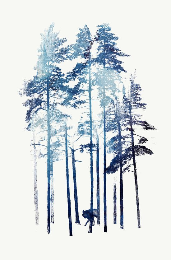 Winter Wolf Art Print by Robert Farkas | Society6
