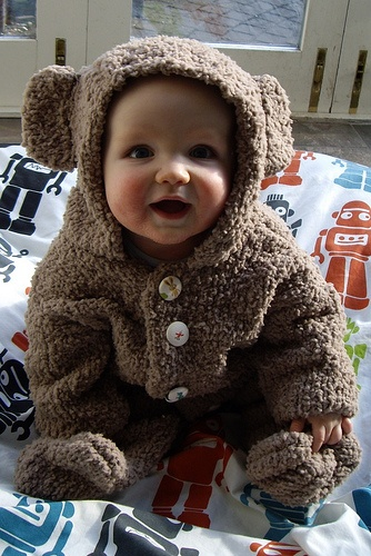 The Teddy Bear Infant Costume is the perfect Halloween costume for you. Show off your Baby costume and impress your friends with this top quality selection from Costume SuperCenter!
