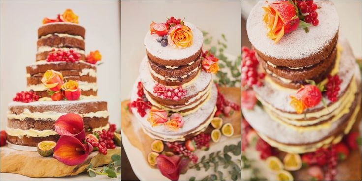 "ChefDulceMary: Tendencia en bodas: Pastel al desnudo ""Naked cake""..."