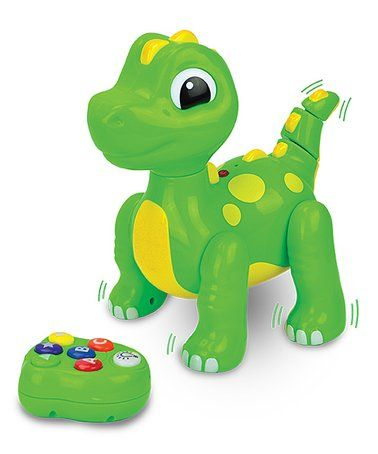 Love this Remote Control ABC Dancing Dino by The Learning Journey on #zulily! #zulilyfinds