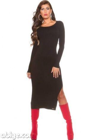 Uzun Siyah Abiye Elbise - Abiye.com