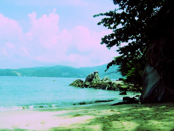 Paradise Beach. Phuket 2013.