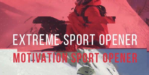 Extreme Sport Opener - Motivation Sport Promo