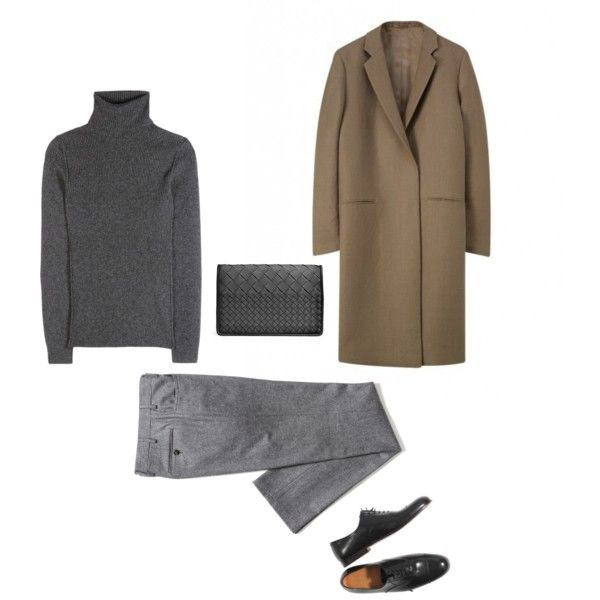 A fashion look from November 2014 featuring Dolce&Gabbana sweaters, Isaia pants and Bottega Veneta clutches.