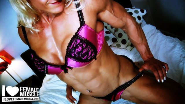 Amazing muscle girl brigita brezovac flexing her ultimate hardbody 8