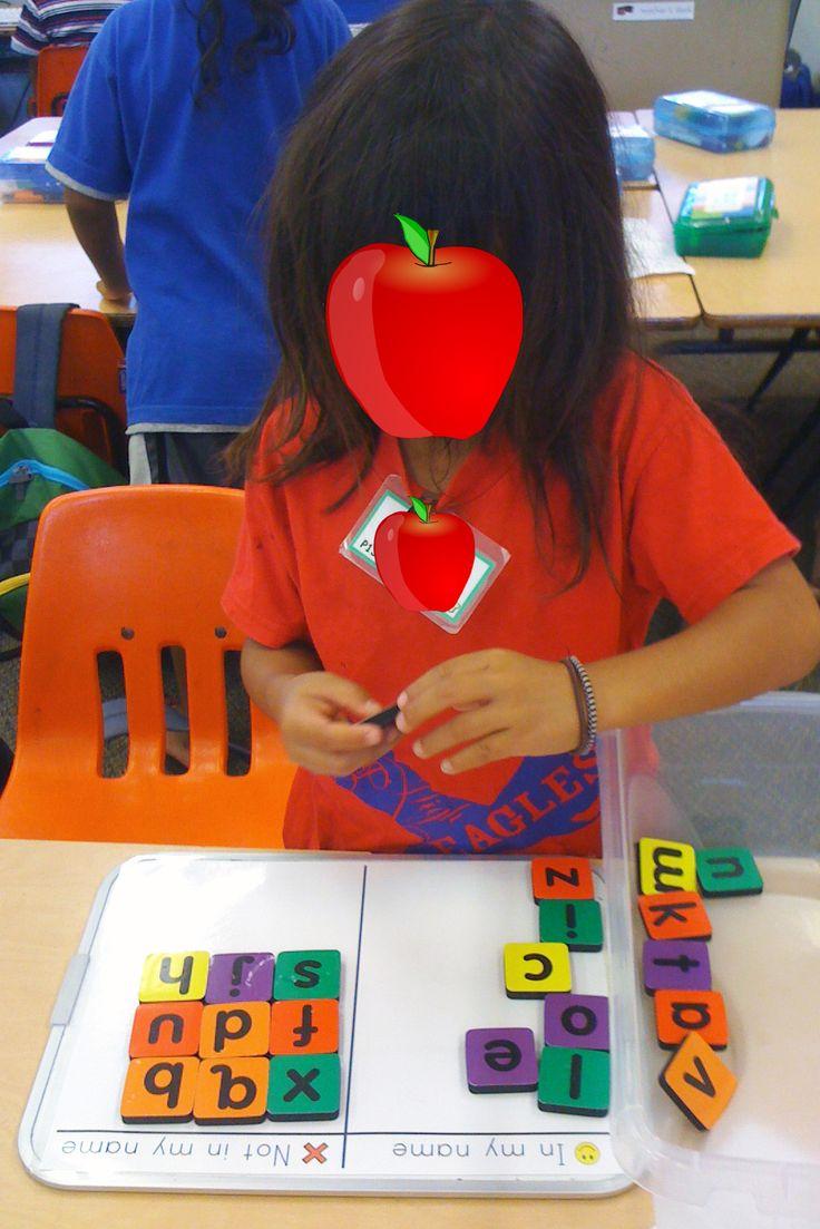 Kinder Garden: Mrs. Ricca's Kindergarten: Literacy Centers...letters In